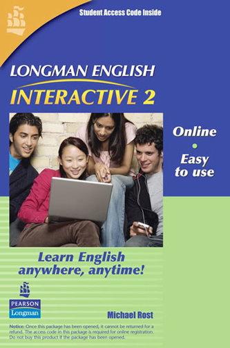 Longman English Interactive 2, Online Version, British English (Access Code Card)
