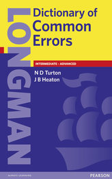 Longman Dictionary of Common Errors New Edition