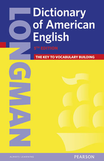 Longman Dictionary of American English 5 Cased (HE) - neuveden