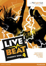 Live Beat 4 Student Book & MyEnglishLab Pack