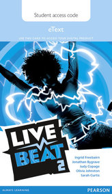 Live Beat 2 eText Student Access Card
