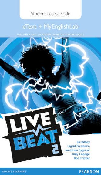 Live Beat 2 eText & MyEnglishLab Access Card