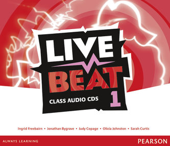 Live Beat 1 Class Audio CDs - Bygrave Jonathan