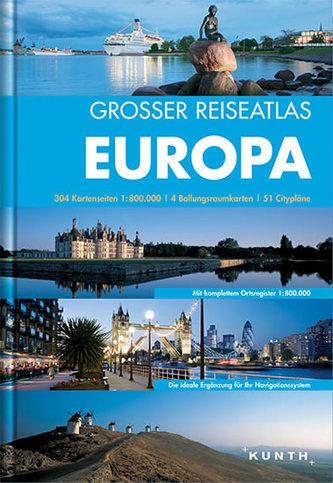Evropa atlas VWK/ 1:800T