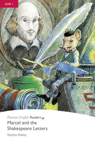 Level 1: Marcel and the Shakespeare Letters Book and CD Pack - Rabley, Stephen