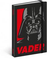 Diář 2018 - Star Wars – Vader, týdenní, 10,5 x 15,8 cm