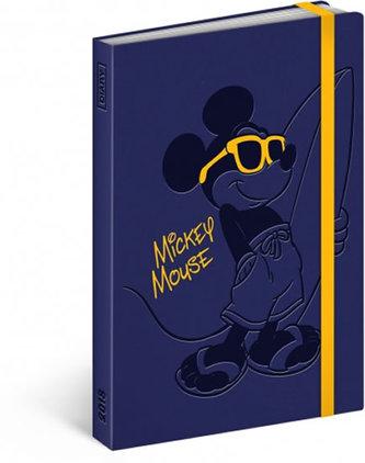 Diář 2018 - Mickey, týdenní, 10,5 x 15,8 cm - neuveden