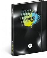 Diář 2018 - Fitness, 15 x 21 cm
