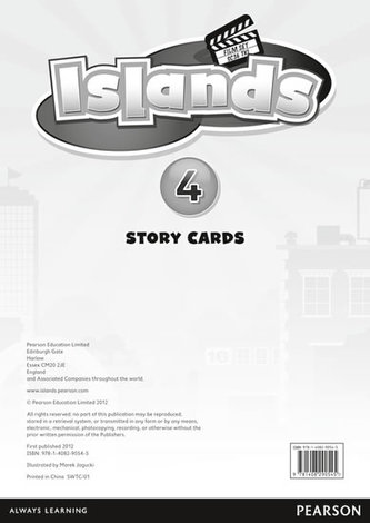 Islands Level 4 Story Cards for Pack