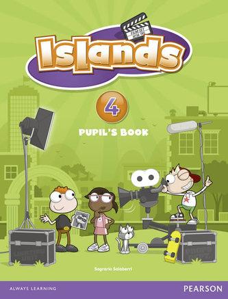 Islands Level 4 Pupil´s Book plus pin code - Lynn Sarah