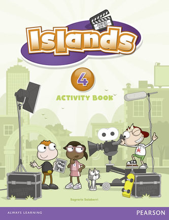Islands Level 4 Activity Book plus pin code - Jervis Sandy