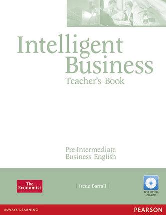 Intelligent Business Pre-Intermediate Teachers Book and Test Master CD-Rom Pack - Barrall Irene
