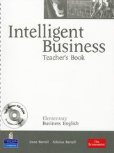 Intelligent Business Elementary Teachers Book/ Test Master CD-Rom Pack