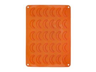 Forma na pečení ORION Rohlíček 30 silikon oranžová