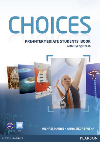 Choices Pre-Intermediate Students´ Book & PIN Code Pack - Michael Harris