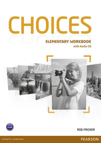 Choices elementary workbook with CD - Náhled učebnice
