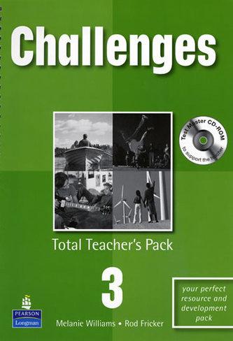Challenges 3 Total Teachers Pack & Test Master CD-Rom 3 Pack - Bell-Williams, Melanie