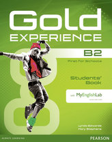 Gold Experience B2 Students´ Book with DVD-ROM and MyLab Pack