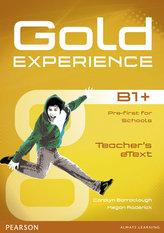 Gold Experience B1+ eText Teacher CD-ROM