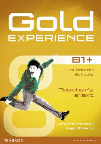 Gold Experience B1+ eText Teacher CD-ROM - Carolyn Barraclough