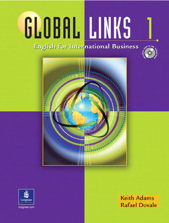 Global Links 1: English for International Business, with Audio CD - Adams Keith
