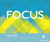 Focus BrE 4 Class CDs