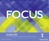 Focus BrE 2 Class CDs