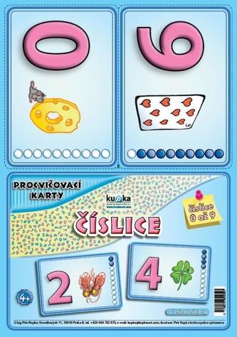 Procvičovací karty - číslice - Petr Kupka