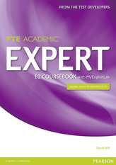 Expert Pearson Test of English Academic B2 Coursebook and MyEnglishLab Pack