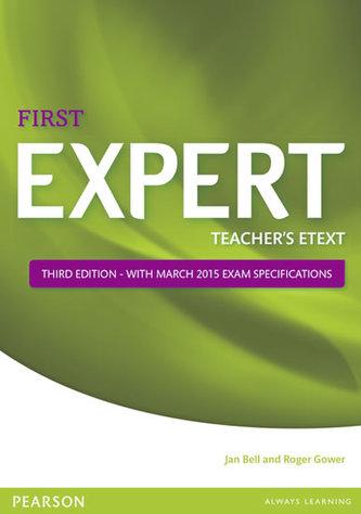Expert First 3rd Edition eText Teacher´s CD-ROM - Jana Bellová