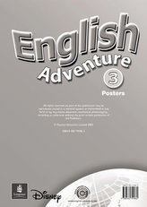 English Adventure Level 3 Posters