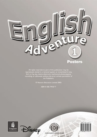 English Adventure Level 1 Posters - Worrall Anne