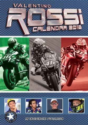 Kalendář 2018 - VALENTINO ROSSI - neuveden