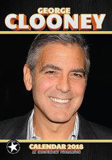 Kalendář 2018 - GEORGE CLOONEY