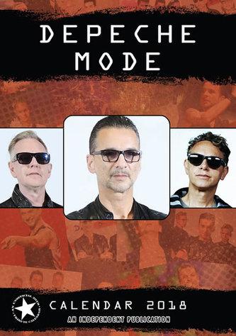 Depeche Mode - nástěnný kalendář 2018 - neuveden