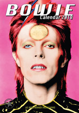 David Bowie - nástěnný kalendář 2018