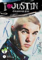 Justin Bieber - nástěnný kalendář 2018