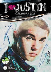 Kalendář 2018 - JUSTIN BIEBER
