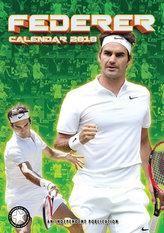 Roger Federer - nástěnný kalandář 2018