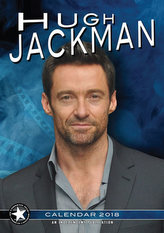 Hugh Jackman - nástěnný kalendář 2018