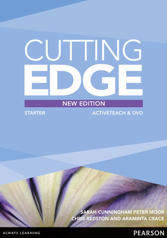 Cutting Edge Starter New Edition Active Teach - Cunningham, Sarah