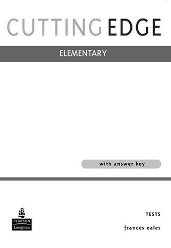 Cutting Edge Elementary Tests - neuveden