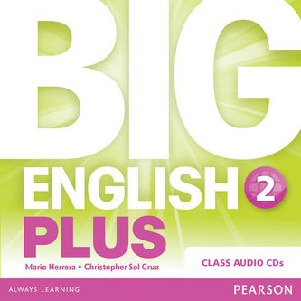 Big English Plus 2 Class CD - Herrera Mario, Pinkey Diane