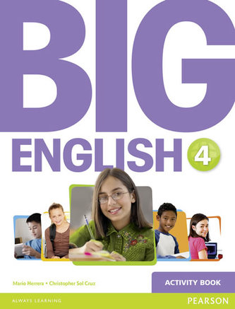 Big English 4 Activity Book - Herrera Mario, Pinkey Diane