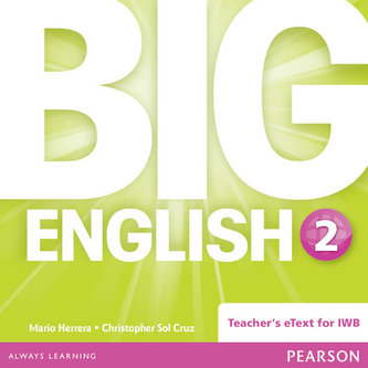 Big English 2 Teacher´s eText CD-Rom - Herrera Mario, Pinkey Diane