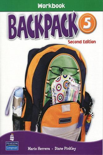 Backpack 5 Workbook with Audio CD - Herrera Mario, Pinkey Diane