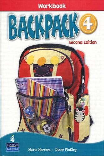 Backpack 4 Workbook with Audio CD - Herrera Mario, Pinkey Diane