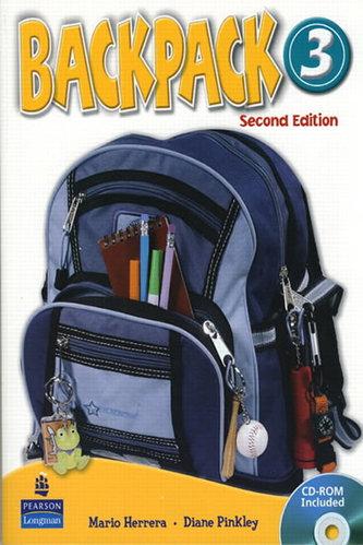 Backpack 3 Workbook with Audio CD - Herrera Mario, Pinkey Diane