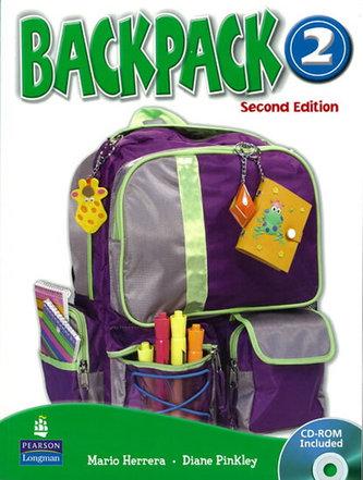 Backpack 2 Workbook with Audio CD - Herrera Mario, Pinkey Diane
