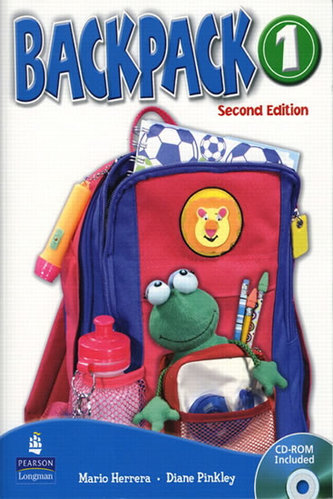 Backpack 1 Workbook with Audio CD - Herrera Mario, Pinkey Diane
